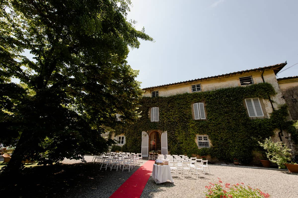 fattoria mansi bernardini wedding ceremony villa