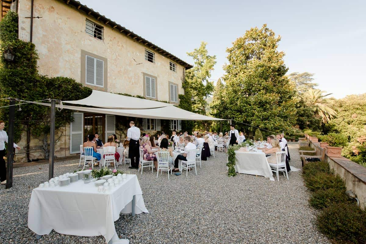 fattoria mansi bernardini wedding dinner