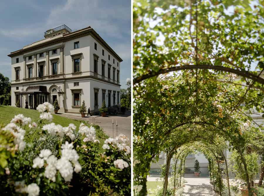 Villa Cora garden