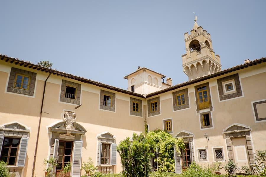 castello di montegufoni garden