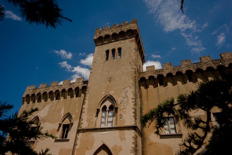 Castello di Santa Maria Novella front