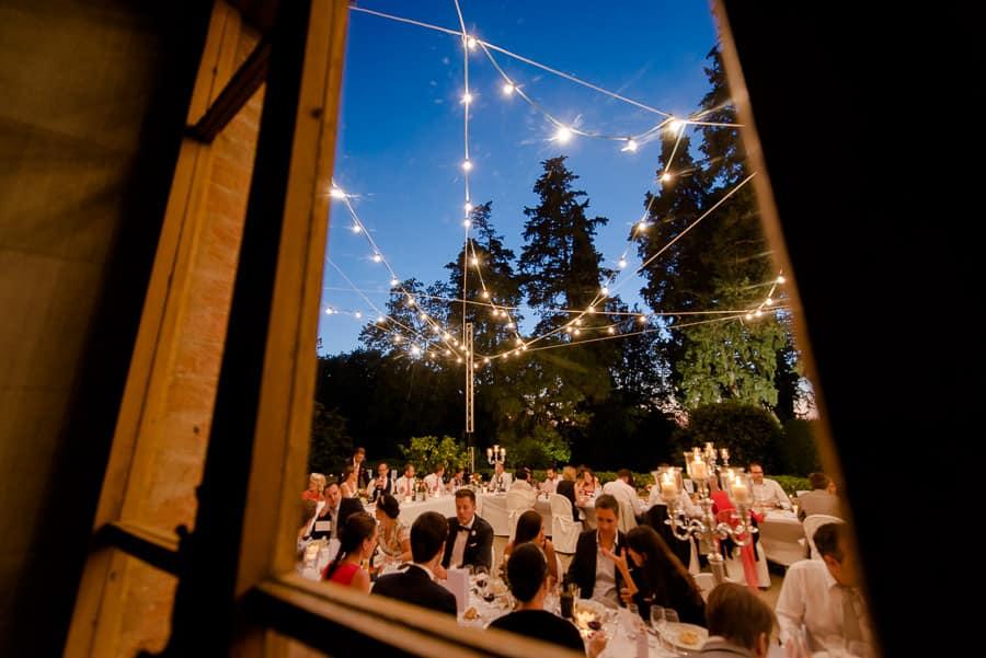 tenuta bichi borghesi wedding dinner