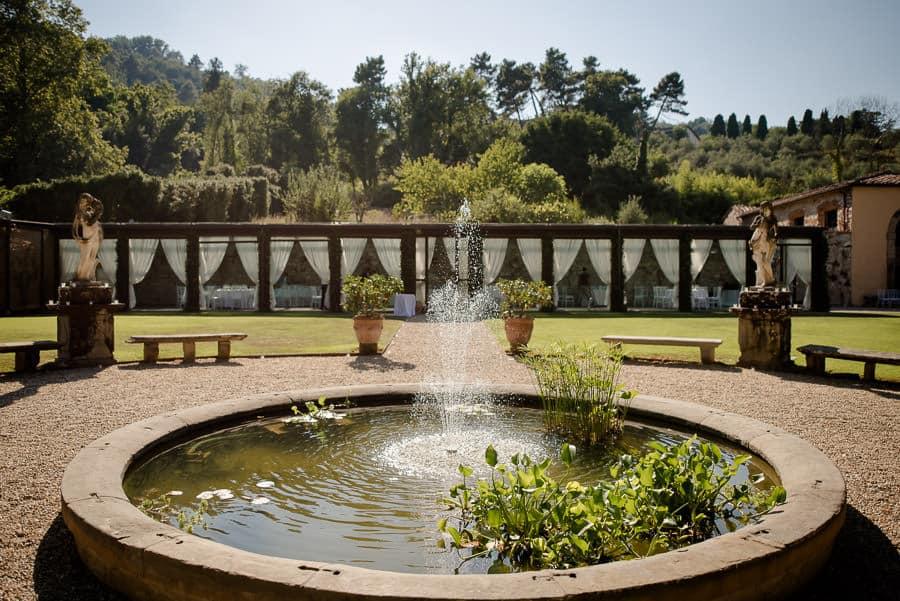 villa bernardini fountain
