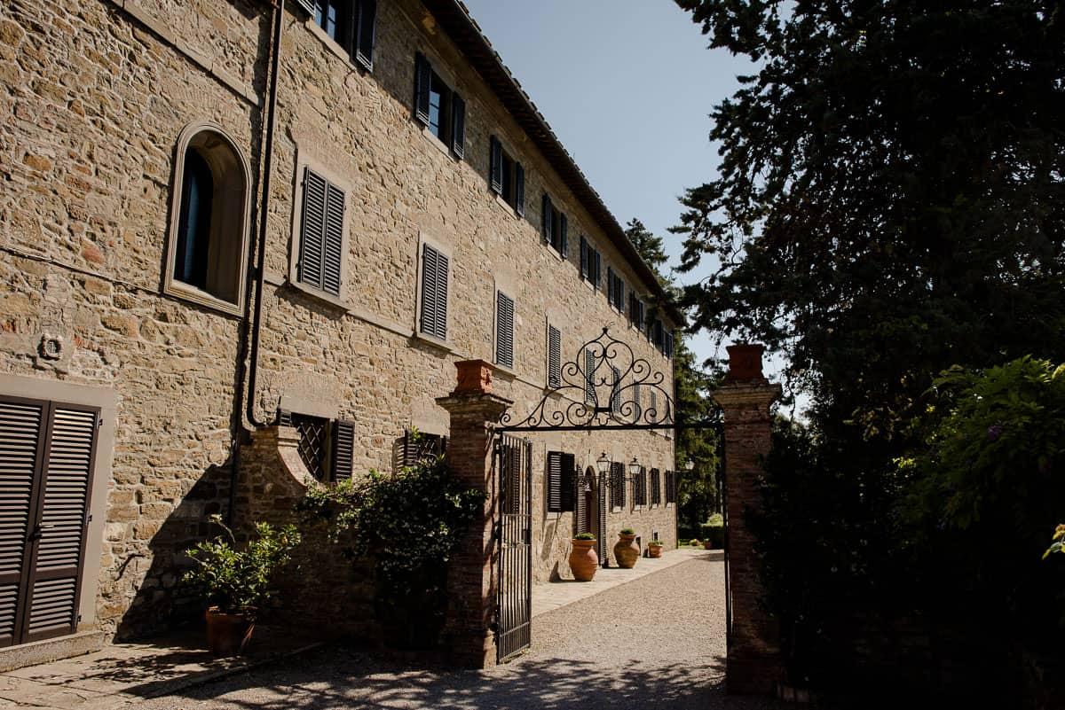 borgo castelvecchi villa