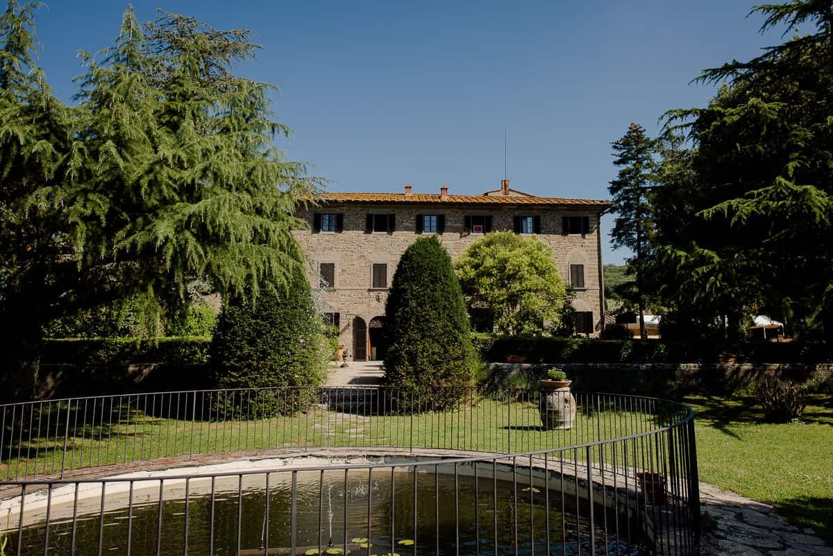 borgo castelvecchi villa with garden