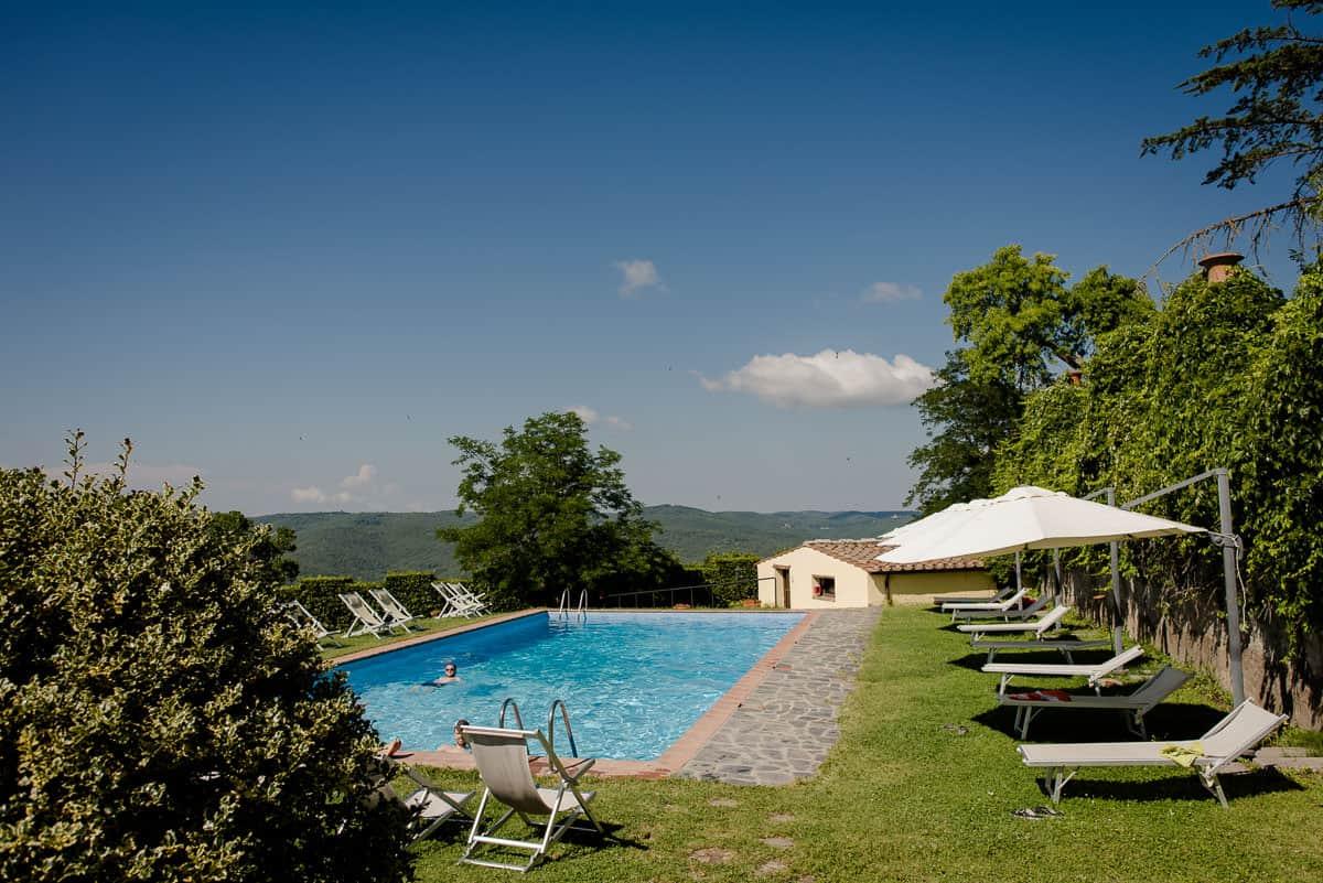 borgo castelvecchi swiiming pool