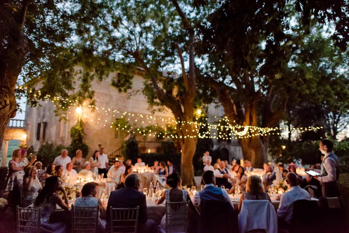 borgo stomennano wedding dinner