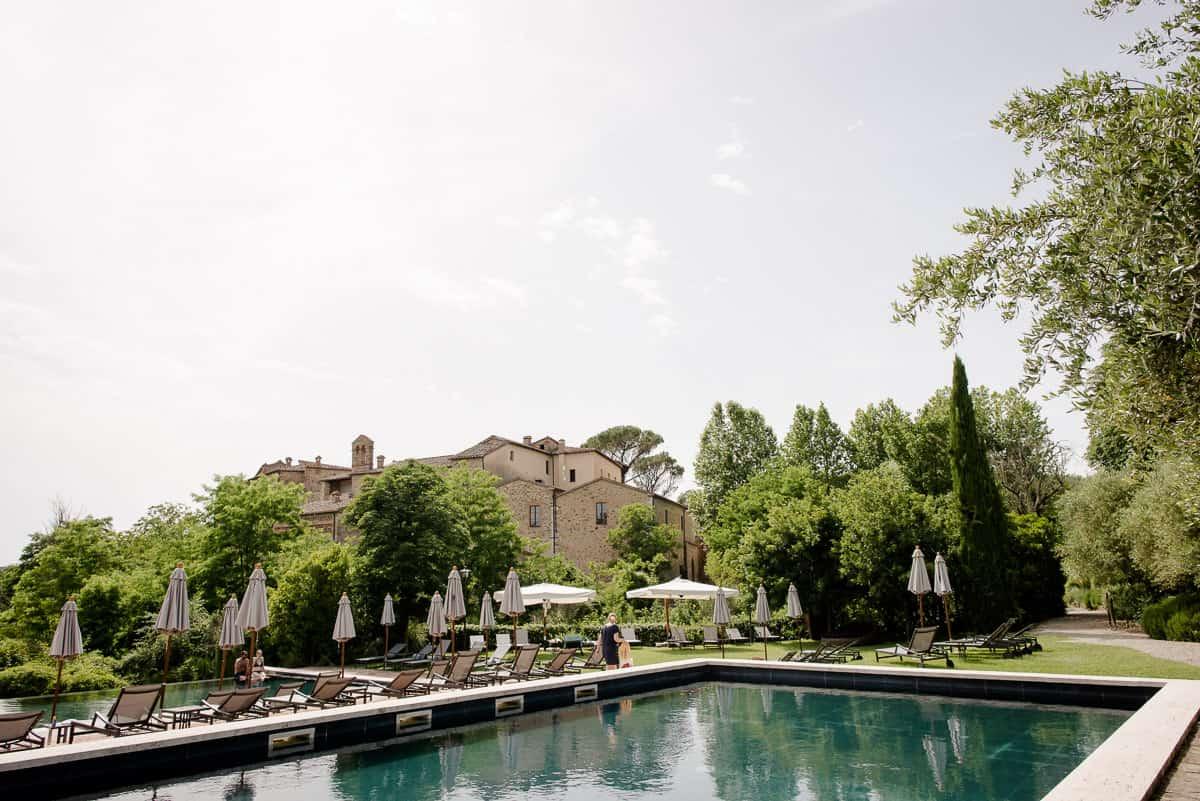 castelmonastero swimming pool