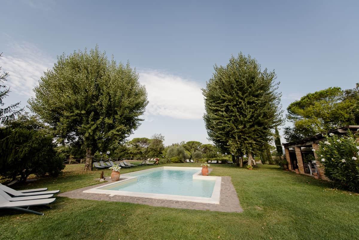 Fattoria di Corsignano swimming pool
