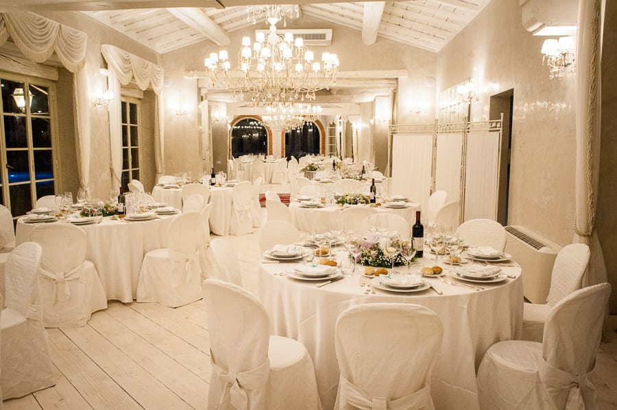valle di badia limonaia wedding tables