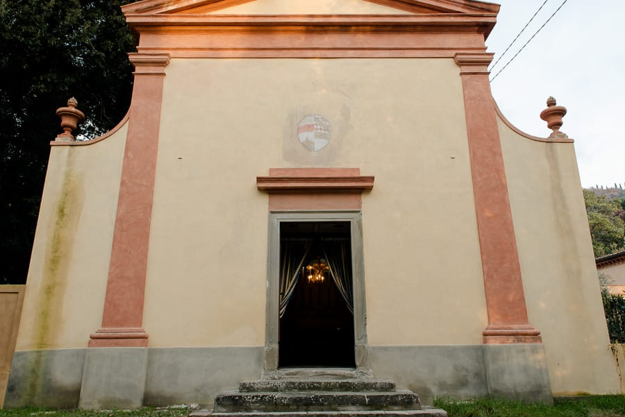 villa di corliano church