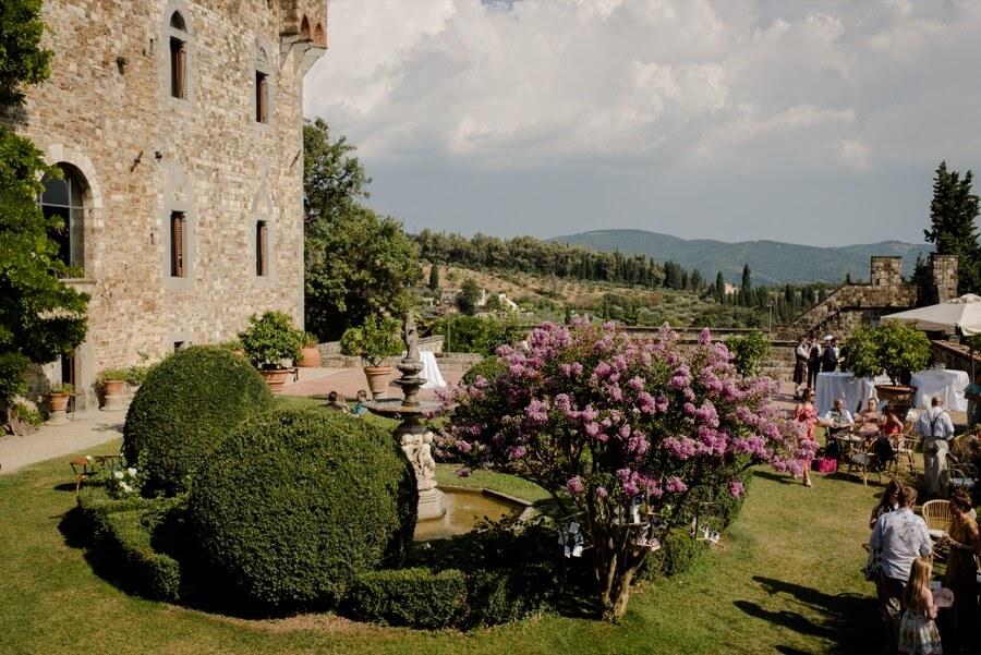vincigliata castle garden florence