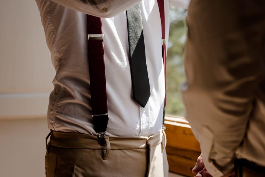 groomsman necktie