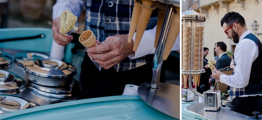 ice cream 500 at wedding