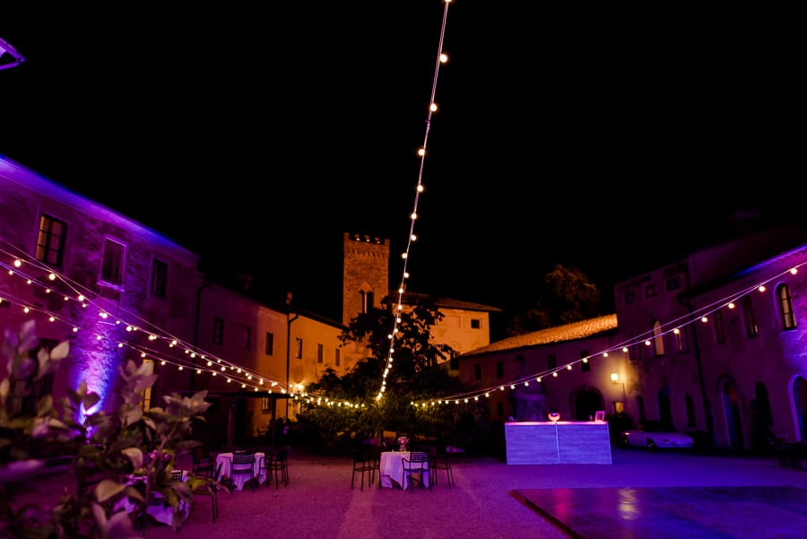 santa maria novella castle night lighting