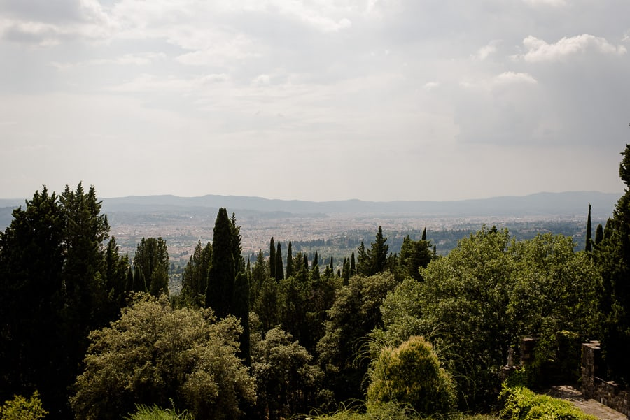 florence panorama from vincigliata castle