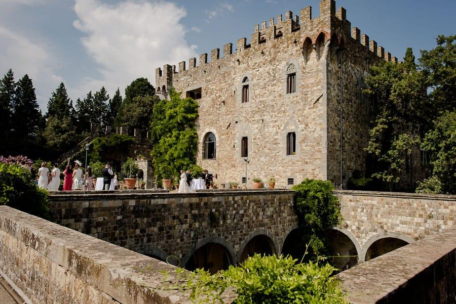 Vincigliata castle venue