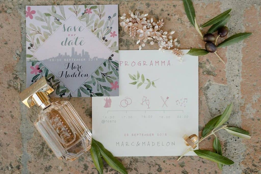 Tuscany Wedding Styling Ideas and Inspiration stationery