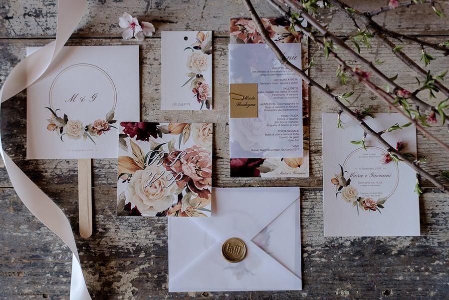 Tuscany Wedding Styling Ideas and Inspiration stationery