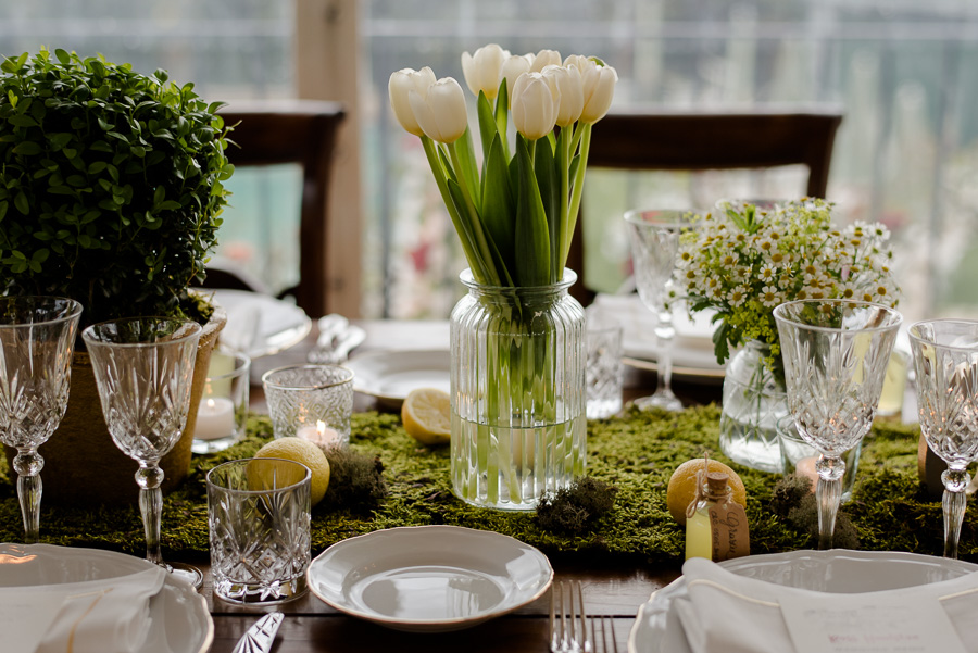 Tuscany Wedding Centrepiece Ideas Qualcosa Di Blu Wedding Photo
