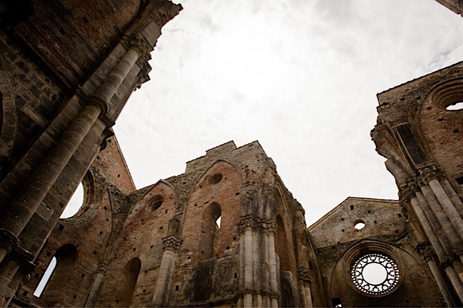 San Galgano abbey detail