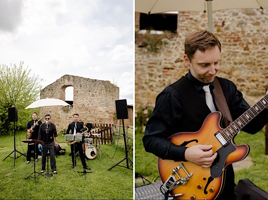 music live band at tenuta di papena