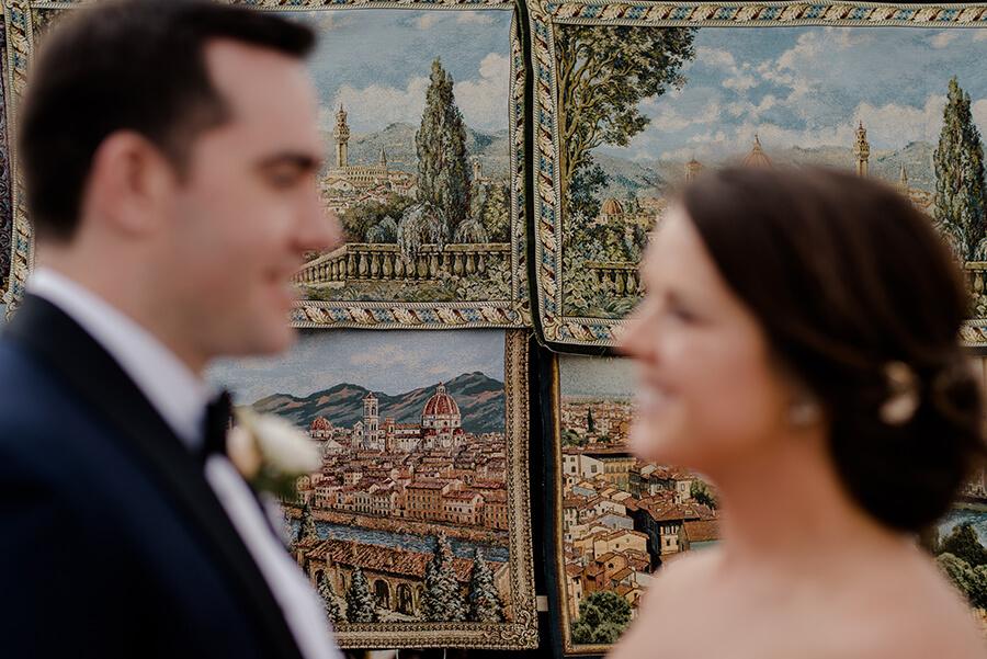 Beautiful panoramic view of Florence