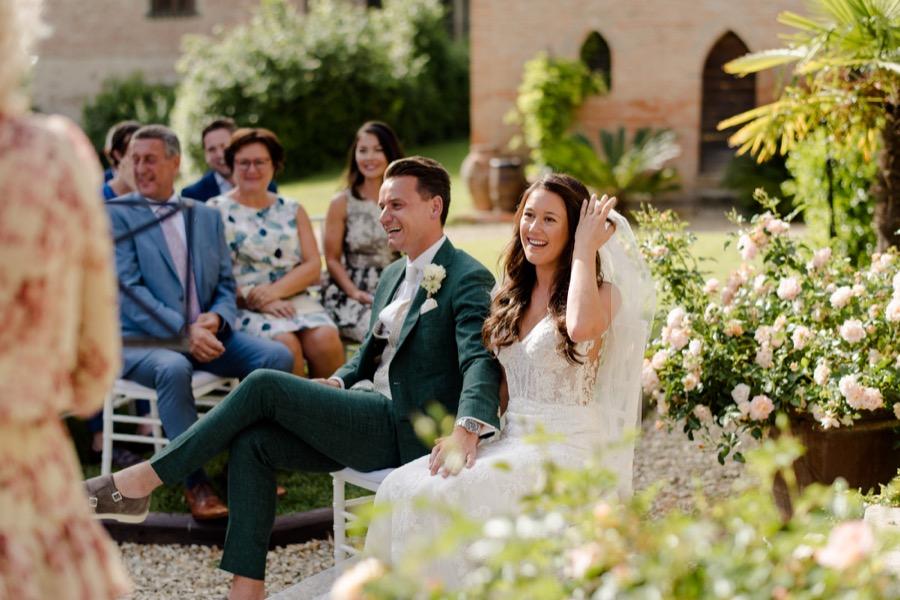 wedding ceremony at Tenuta di Pratello Country Resort