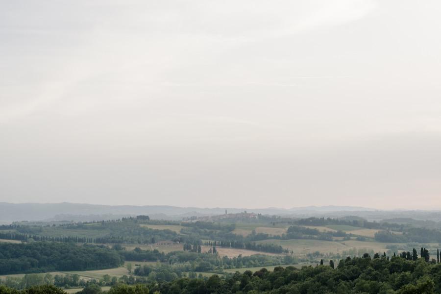wonderful view from Tenuta di Pratello Country Resort