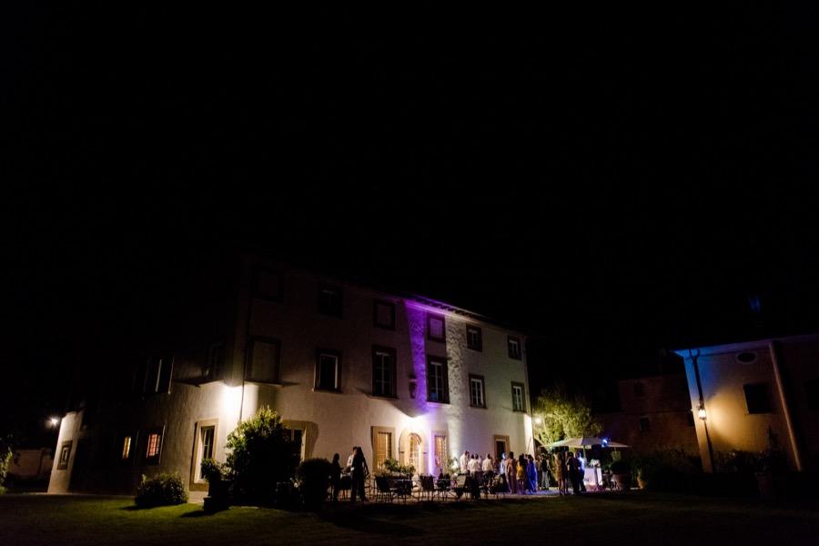 Tenuta di Pratello Country Resort at night