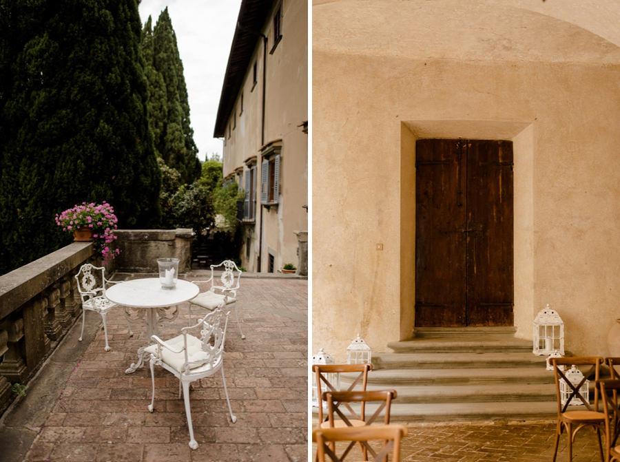 montegufoni castle details