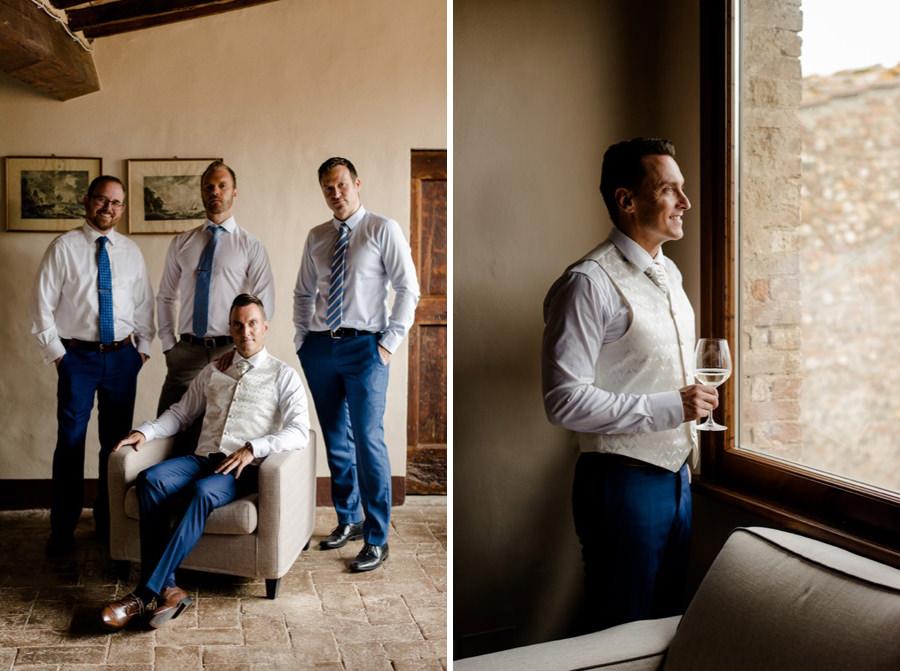 groom and groomsmen group photo