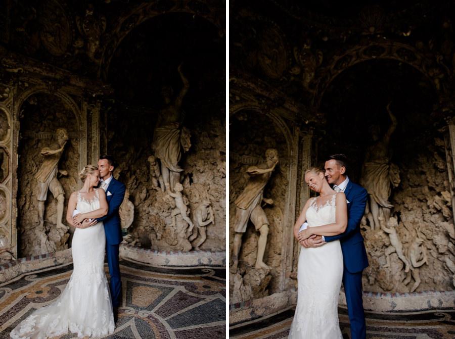 wedding portrait at montegufoni castle