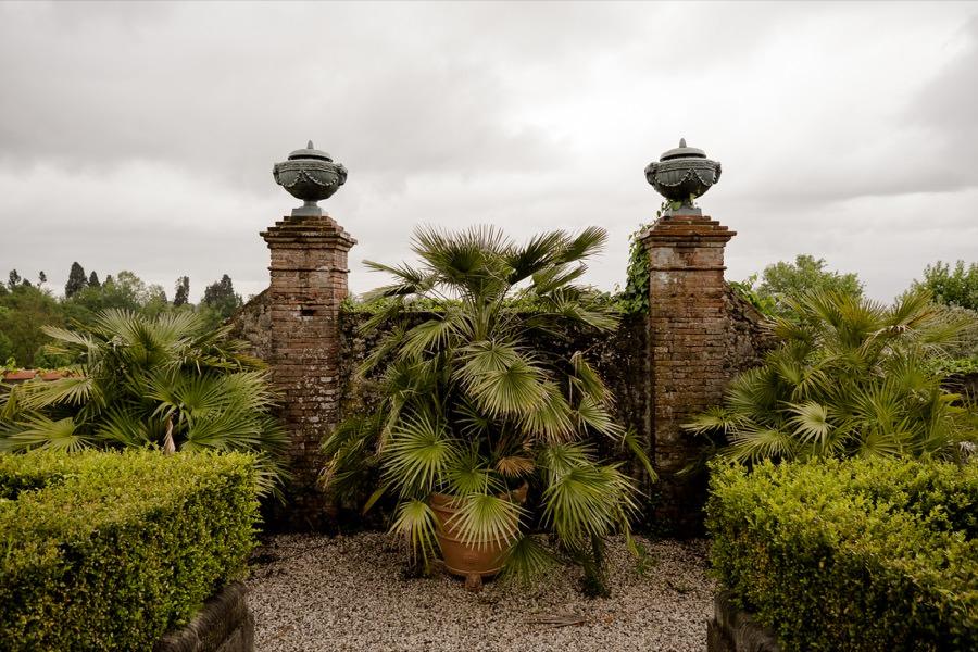gardens of Villa Daniela Grossi Lucca