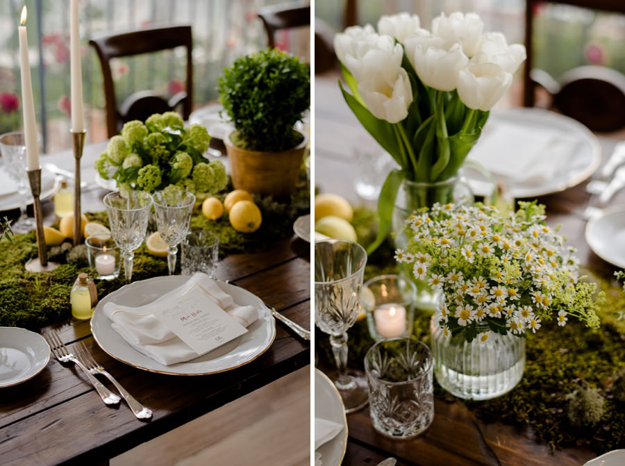 wedding centerpiece decor