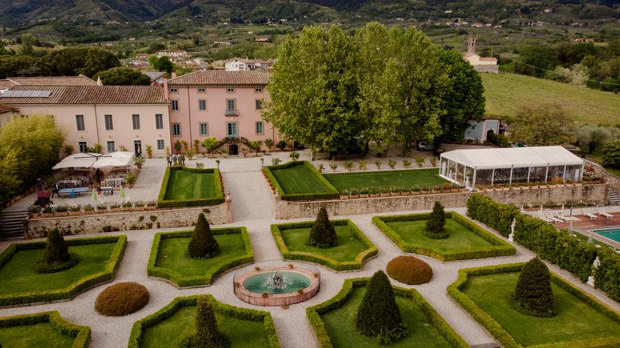 Villa Daniela Grossi, Capannori, Lucca