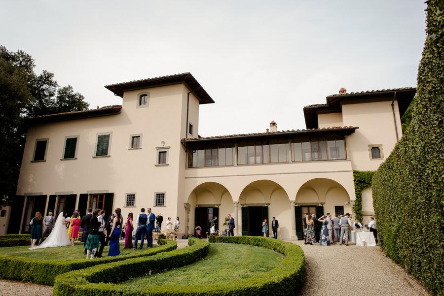 view of Villa il Garofalo Florence