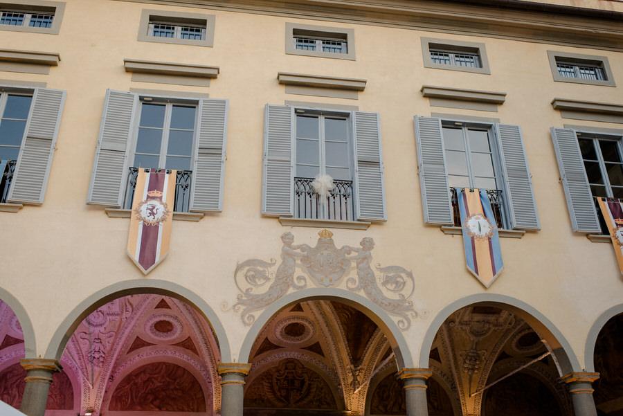 Details of Villa Le Molina, San Giuliano Terme, Pisa