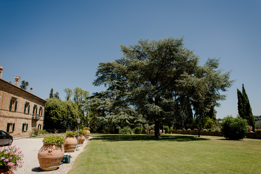 The Big Garden of Villa Piaggia Montaione