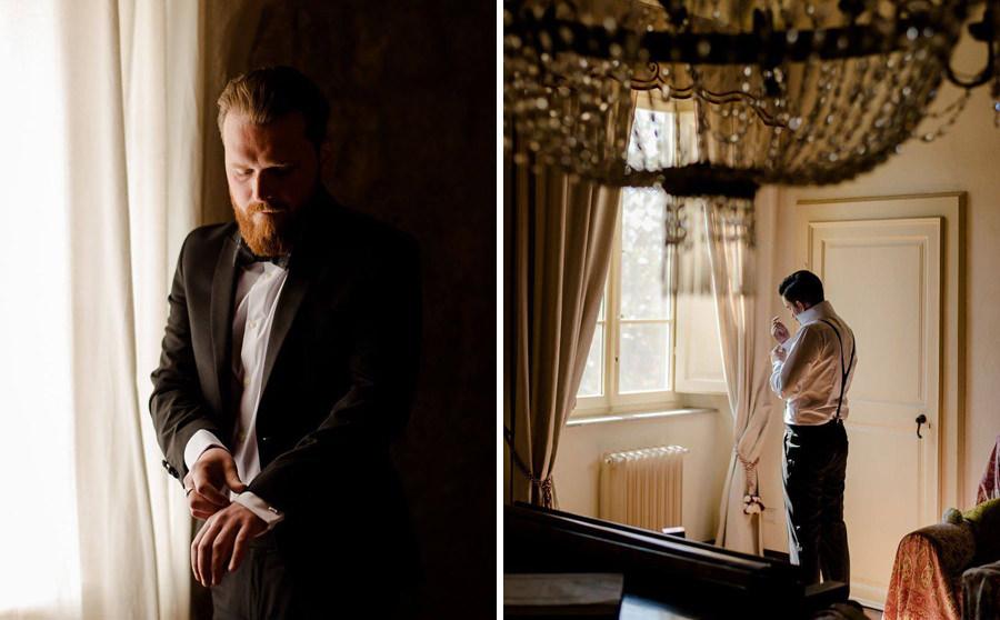 groom attire wedding in tuscany